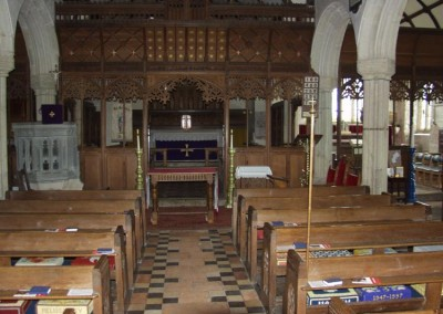 Breage Church interior